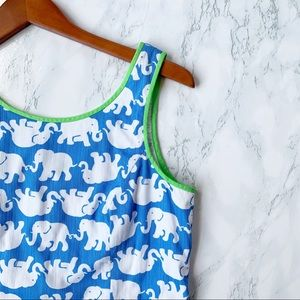 Lily Pulitzer Tusk in the Sun Elephant Shift Dress